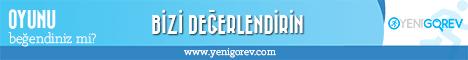 Yeni Görev - Banner 468x60 White