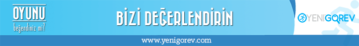 Yeni Görev - Banner 728x93 White