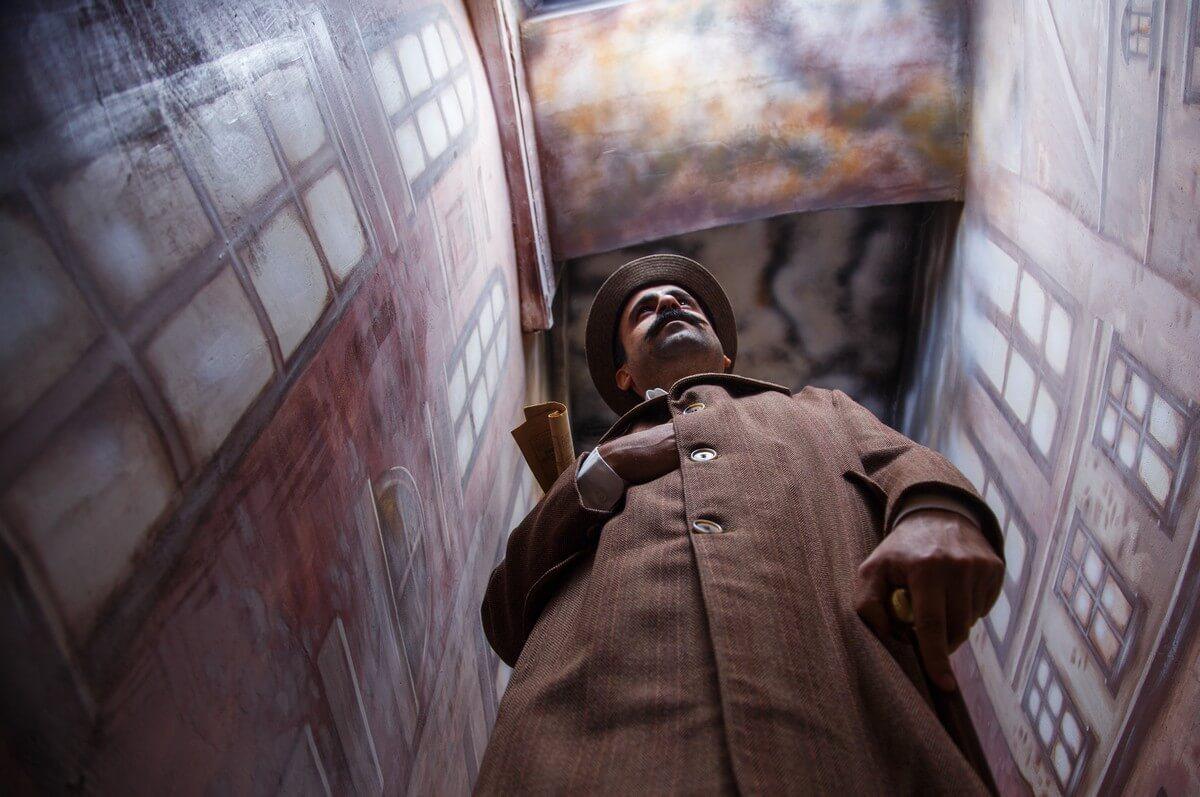 TerraQuesta - Sherlock Holmes Londra Şeytanına Karşı Gerçek Evden ve Odadan Kaçış Oyunu