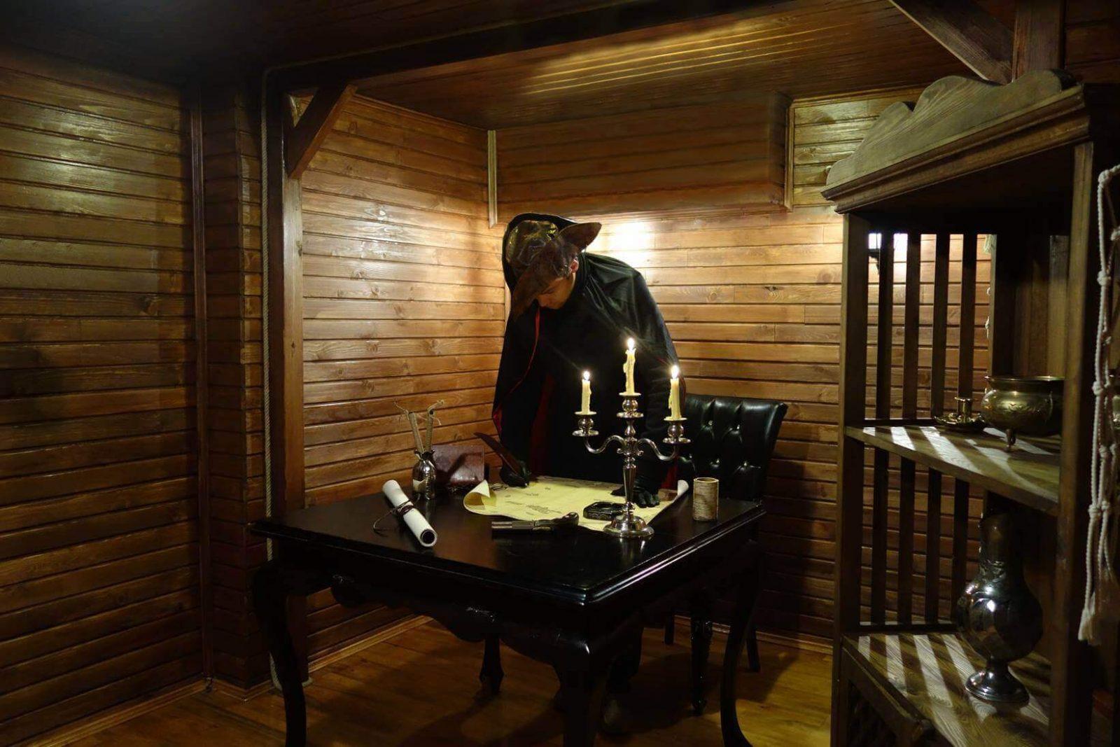 Beş Köşe - Hayalet Gemi Gerçek Evden ve Odadan Kaçış Oyunu