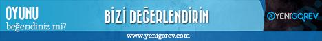 Yeni Görev - Banner 468x60 Black