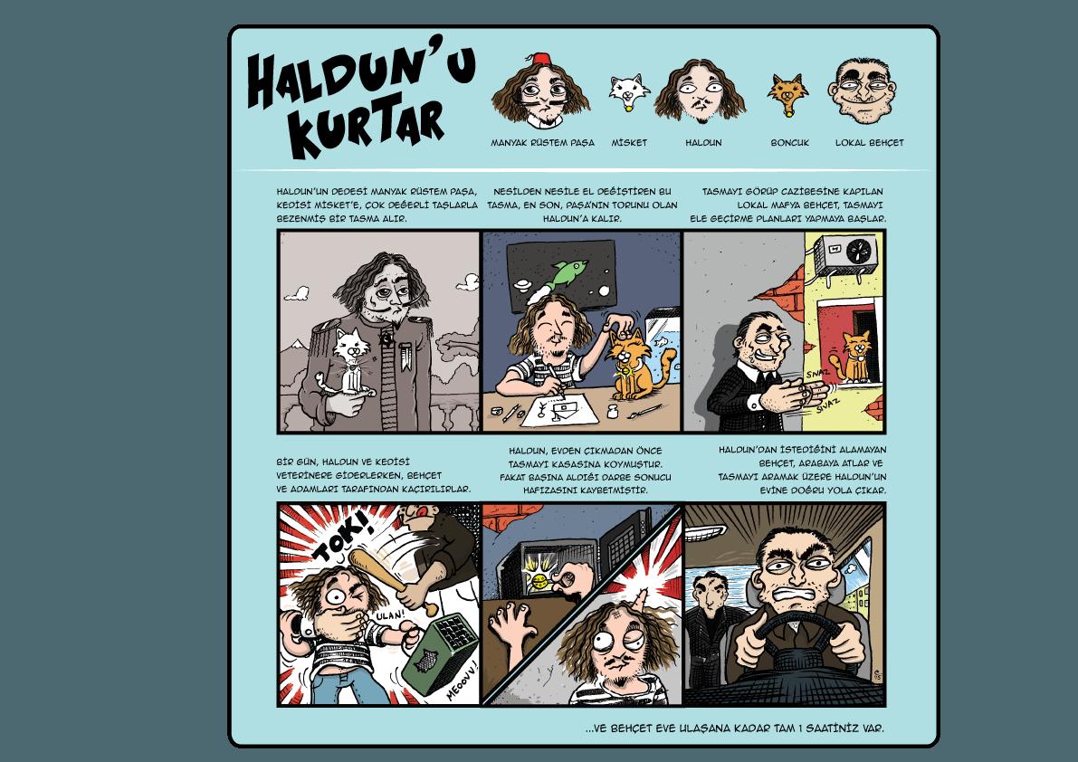 Firari - Haldun'u Kurtar Gerçek Evden ve Odadan Kaçış Oyunu
