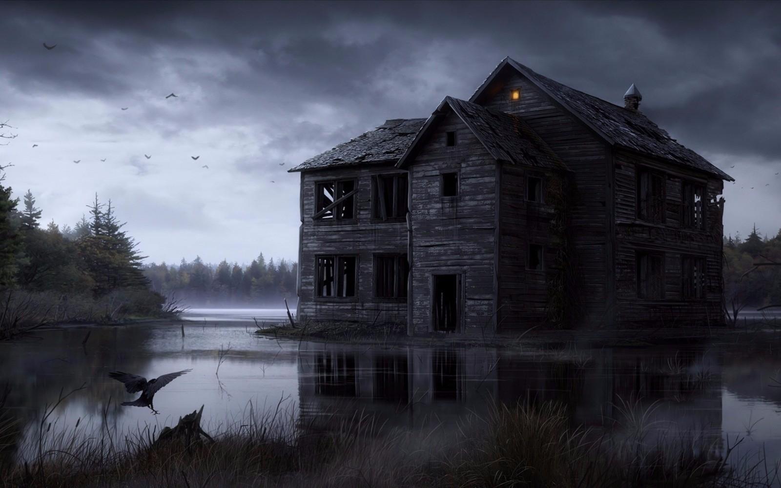 Karanlık Köşk Korku Evi ve Gerçek Evden Kaçış Oyunu