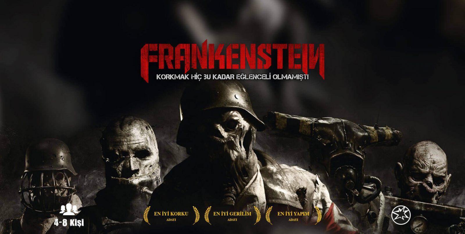 Escape İstanbul - Frankenstein Korku Evi ve Gerçek Evden Kaçış Oyunu